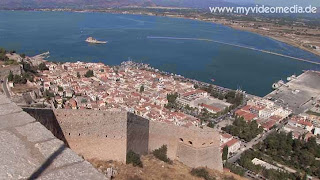 View from Palamidi Fortress - Nafplio - Greece