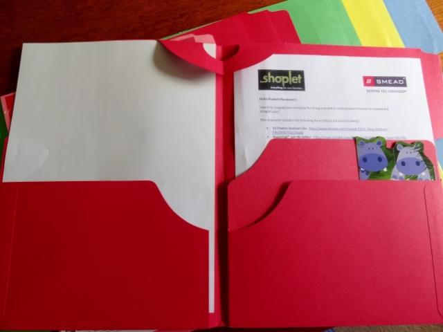 Smead 3-in-1 SuperTab file folders #homeoffice #filing #wahm