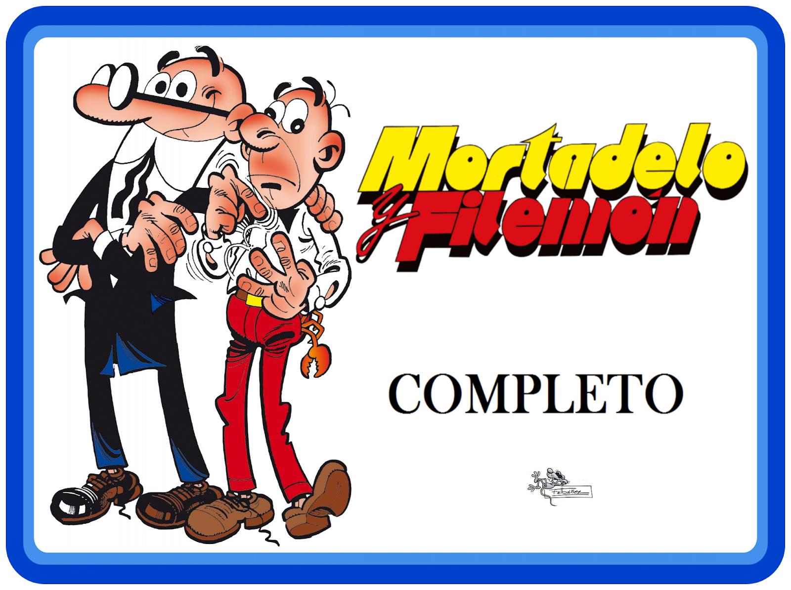 mortadelo y filemon pdf coleccion completa mega