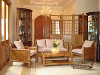 Bamboo Living Room Sets1