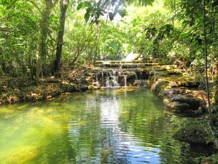 Cachoeira em Bonito (MS). Foto: Ben Oliveira.