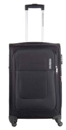 Buy American Tourister Black Spinner Trolley at Flat 51 % Off + Extra 40 % Cashback Rs. 3,199 only at Paytm.