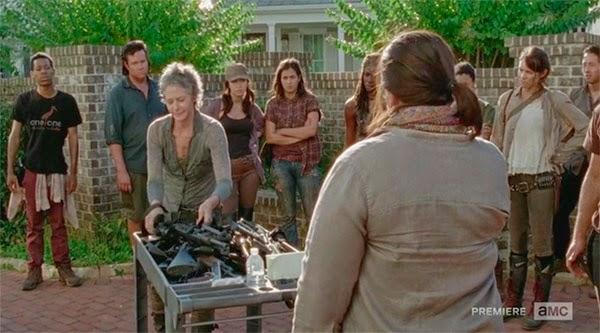 Carol en The Walking Dead 5x12 - Remember