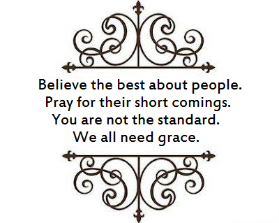 We all need grace image Quote