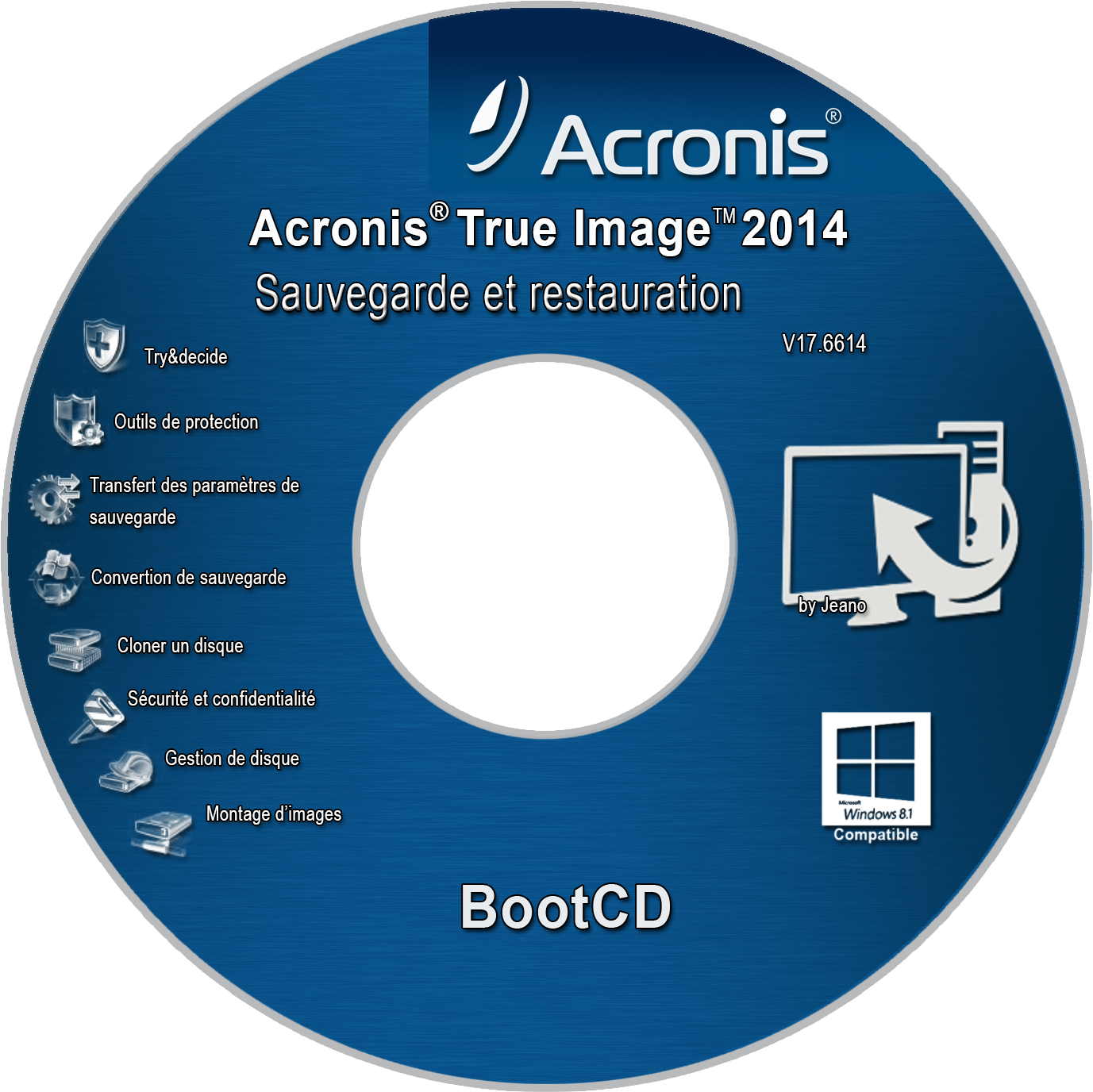 Adding Drivers to WinPE/RE Recovery Media With Acronis