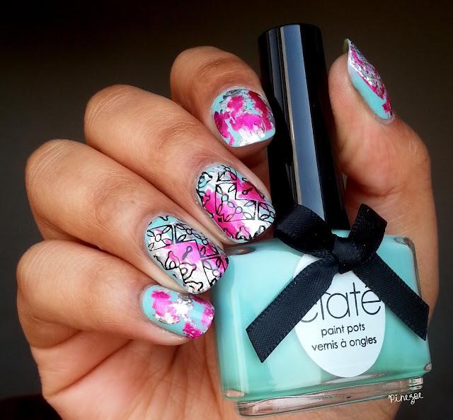 nail art foil et stamping