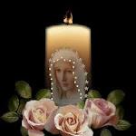 Santuário tarde com Maria