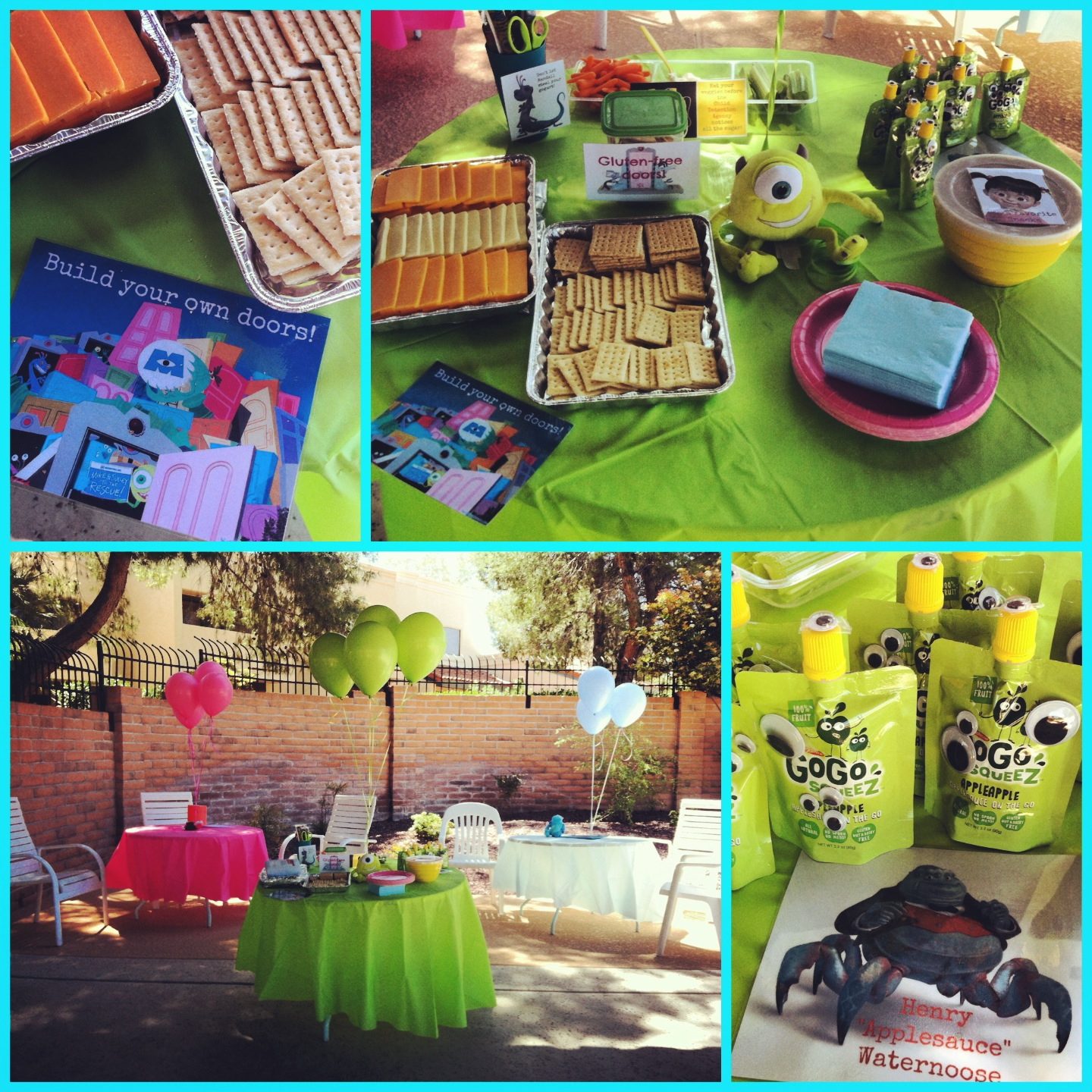 Monsters, Inc Birthday Party