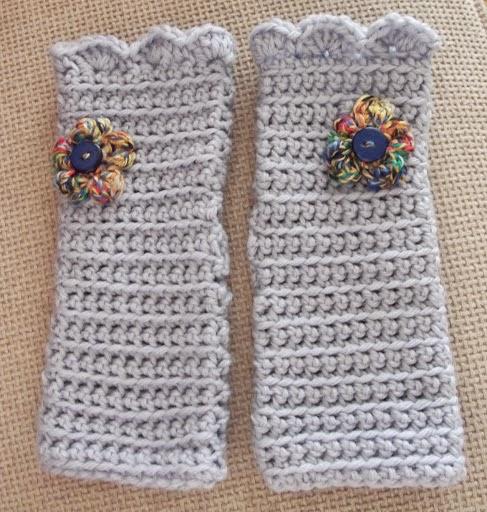 Crochet Wristwarmers