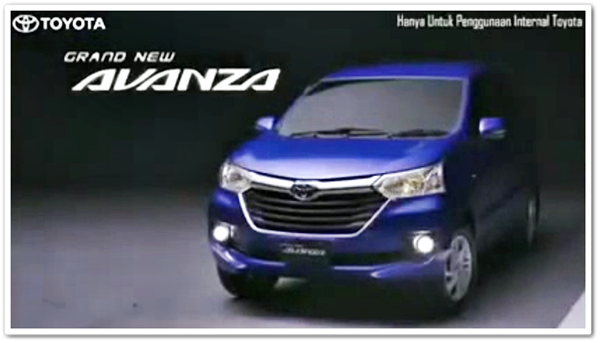 Video Yang Diduga Iklan Grand New Avanza 2015 Bocor Di Internet