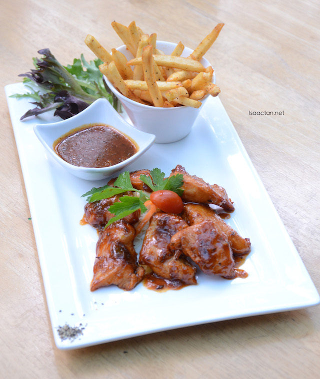 Honey Glazed Chicken Fillet - RM17