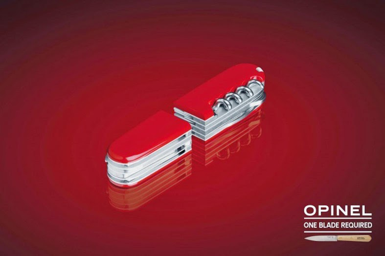 Publicité Opinel - Opinel advertisement