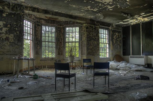 Los Hospitales y construcciones abandonados en el mundo