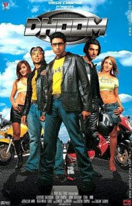 Dhoom is a 2004 Bollywood action thriller film andthe first