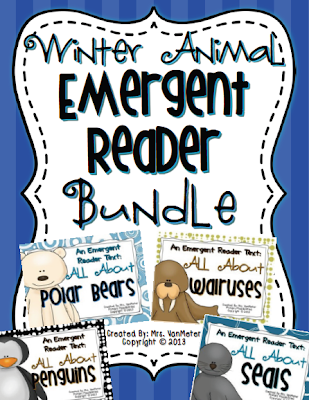 http://www.teacherspayteachers.com/Product/Winter-Animal-Emergent-Reader-Bundle-1030358