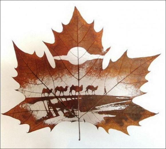 Infinite Innovation: Leaf Carving Art