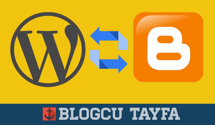 worpress to blogger
