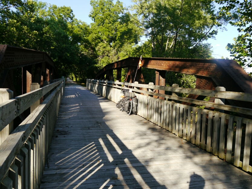 Katy trail first bridge