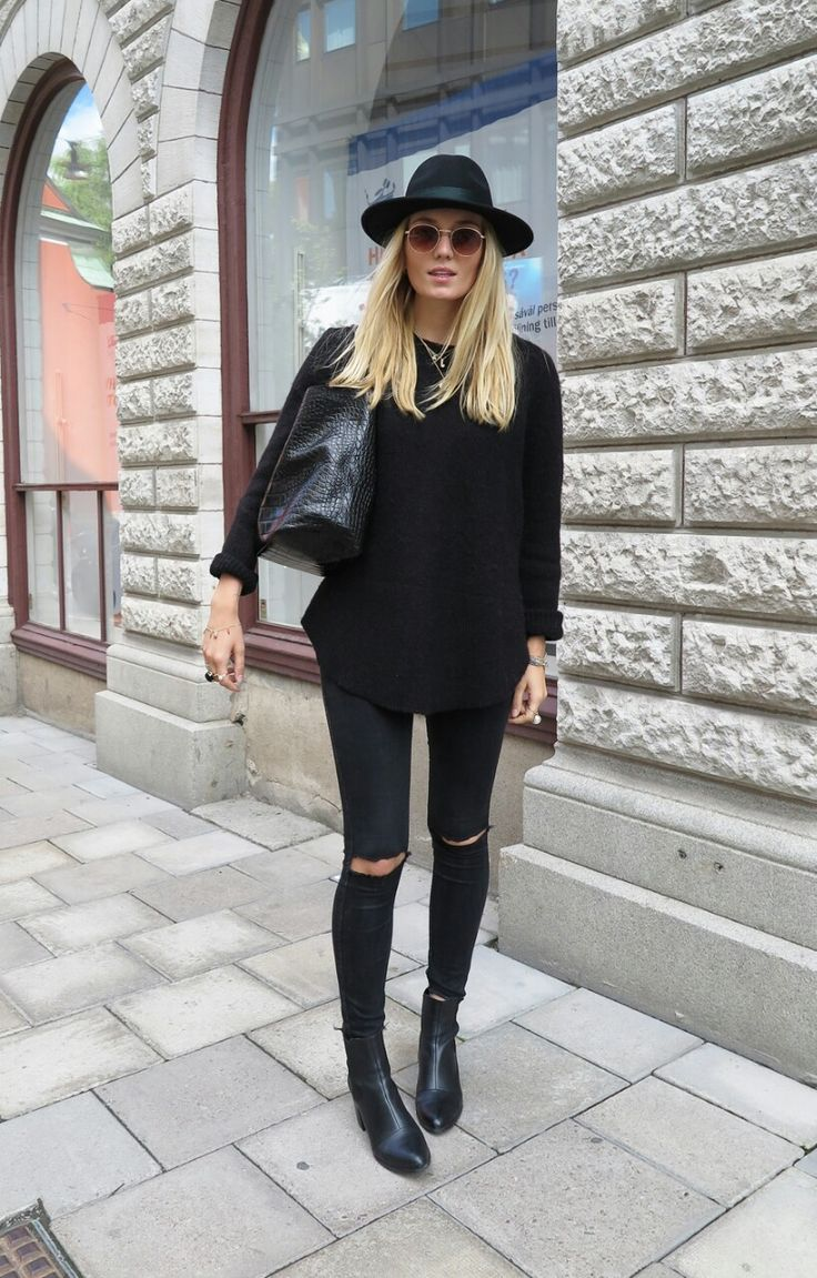 How To Style Black Skinny Jeans - Jeans Am