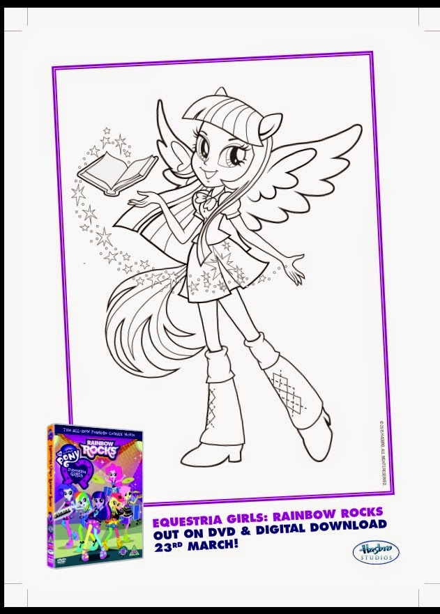 My Little Pony Dazzlings Coloring Pages. My Mummy s Pennies  MLP Equestria Girls Rainbow Rocks Activity Sheet DVD Giveaway