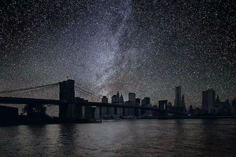 Brooklyn Bridge, Brooklyn, NY - You'll Never Look at the Night Sky in the Same Way