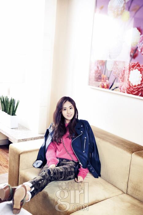 Gayoon 4minute Vogue Girl Magazine 2