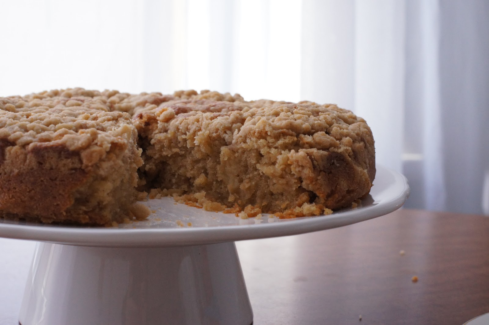 ... Spiced AppleCoffee Cake with Spiced Streusel (makes one 9-inch cake