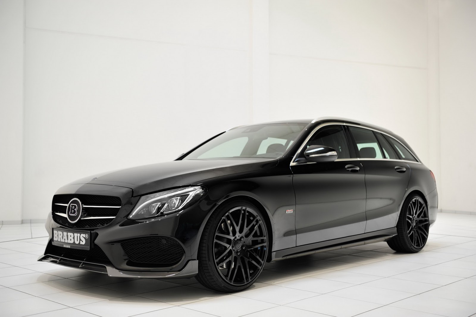 brabus turns the wick on new mercedes benz c class wagon. Black Bedroom Furniture Sets. Home Design Ideas