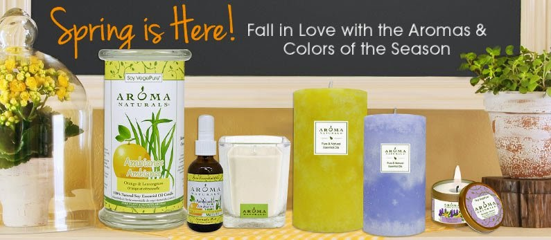 Spring Scents, Candles, Sprays, and Products