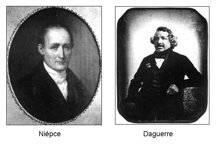 Niepce and Daguerre