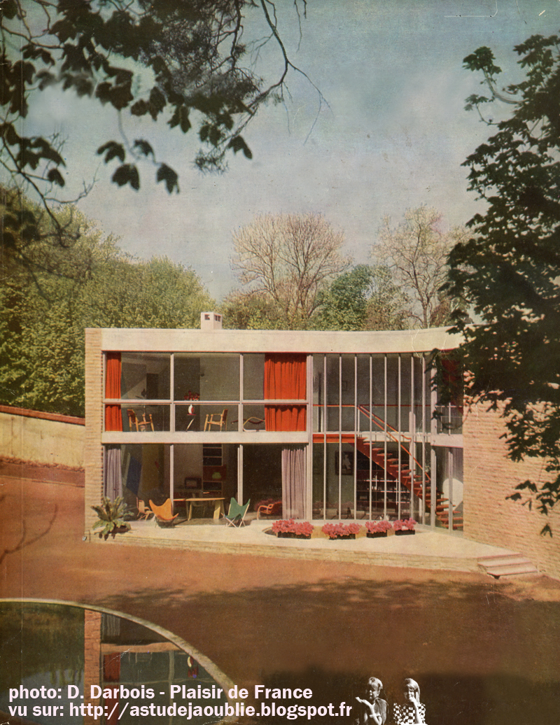 Meudon bellevue villa atelier d 39 andr bloc andr bloc - Maison de la nature meudon ...