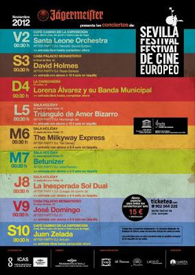 Ciclo de Conciertos -Sevilla Festival de Cine Europeo