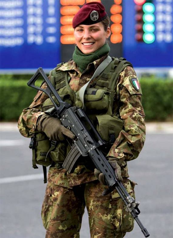 Beautiful Women Army UK | Women Army