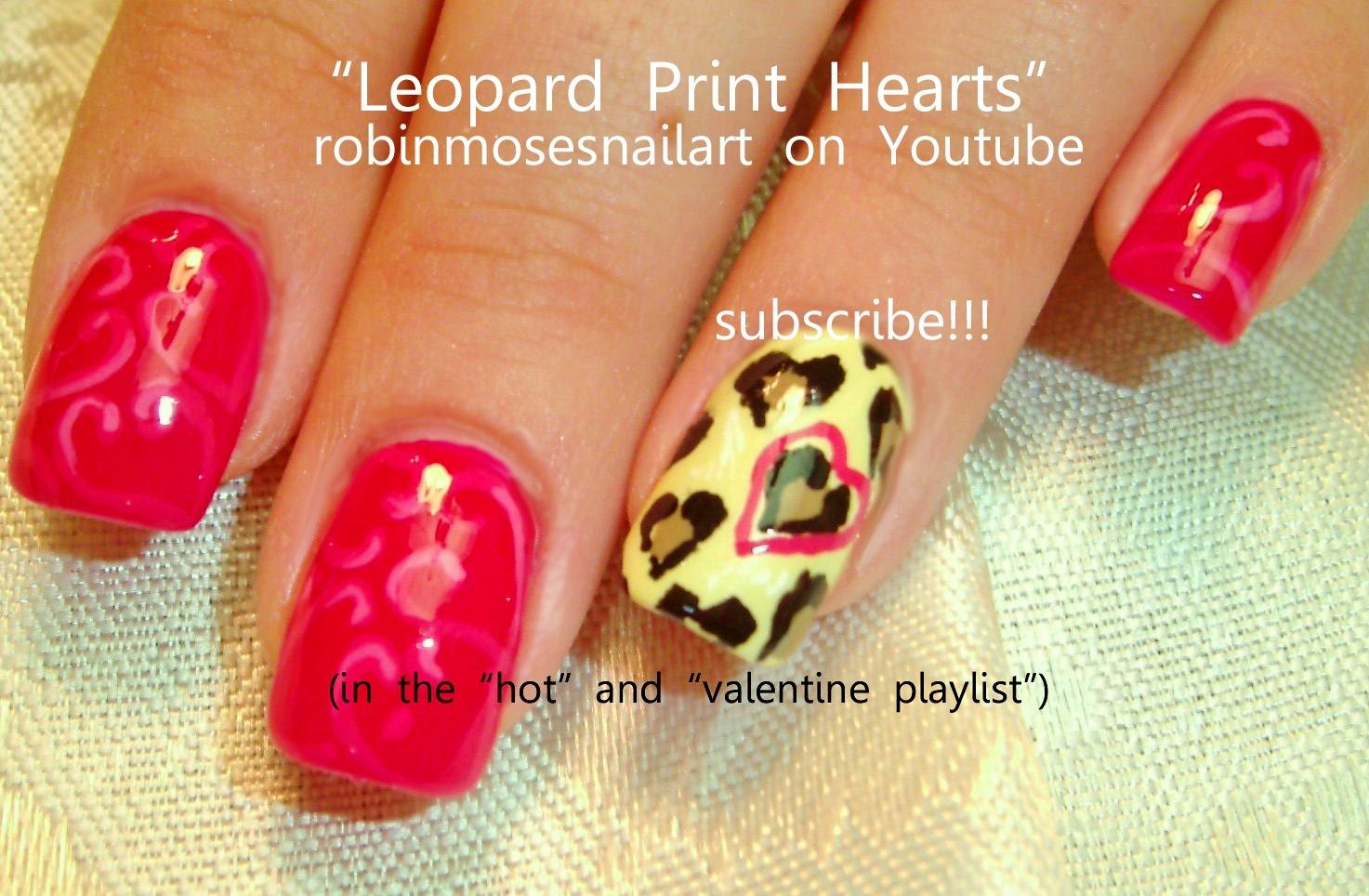 Pink creative nail design