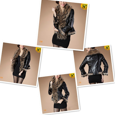 Women Fur Trimmed Jacket