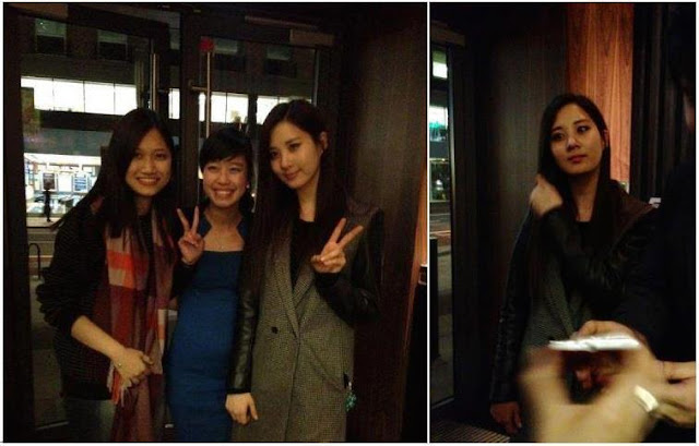 [Picture] 130501 Seohyun with Fans