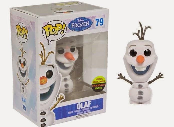 Flocked Olaf [NYCC 2014] y Toy Tokio