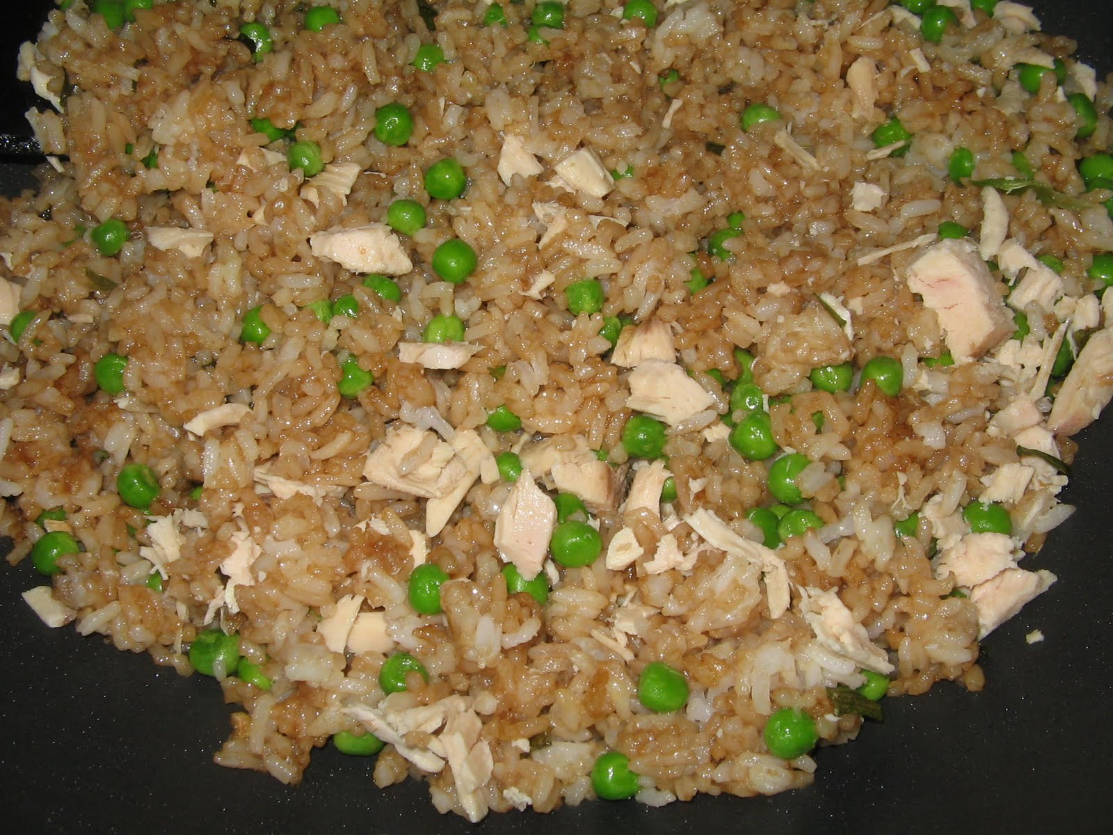 Mix it up fried rice seasoning mix the beauty of this recipe is that you can make it with all sorts of leftovers and cheap frozen veggies i used leftover roasted chicken and frozen peas but ccuart Image collections