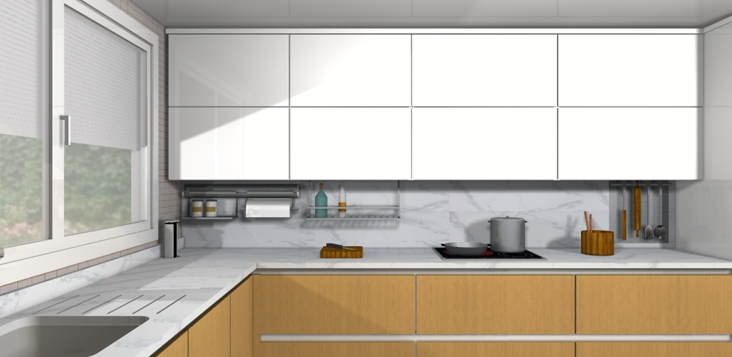 Centro kitchenmaster madrid 3d nuevas luces para for Software diseno de cocinas integrales