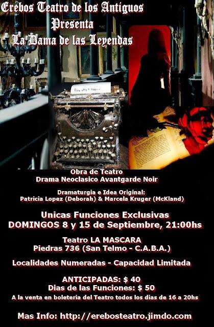 Proximo Estreno/ Unicas Veladas de Gala Teatral 2013