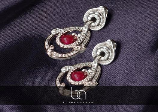 Bushra Aftab Fine Diamonds Earring Collection