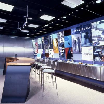 imagine these showroom interior design symbol technologies san