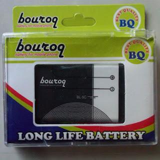 Baterai double power untuk Nokia 1280, 1800, C1-01, C2-01, E50, N91 8GB, X2-01