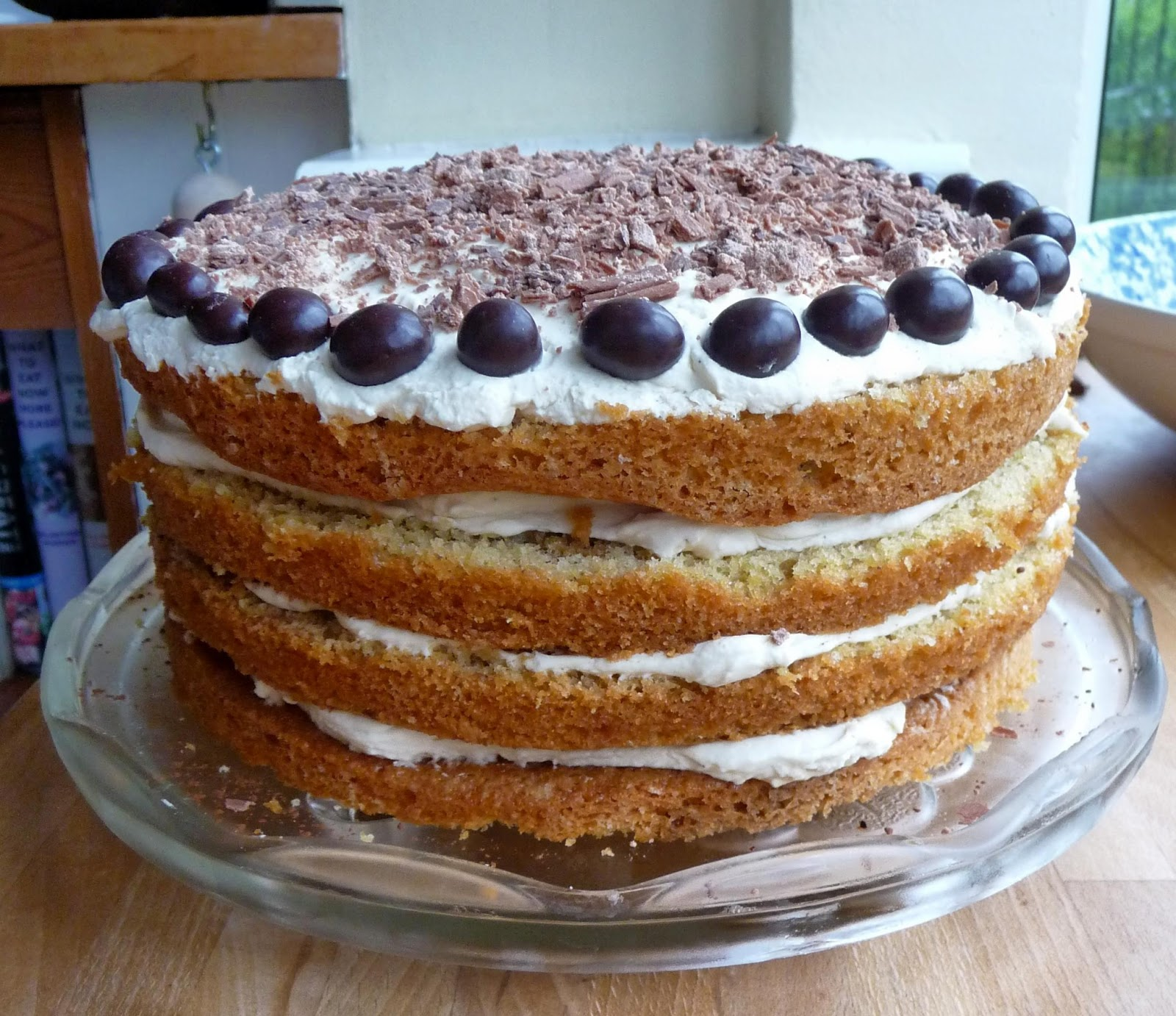 "... bake was a Tiramisu Cake from Fiona Cairns ""The Birthday Cake Book"