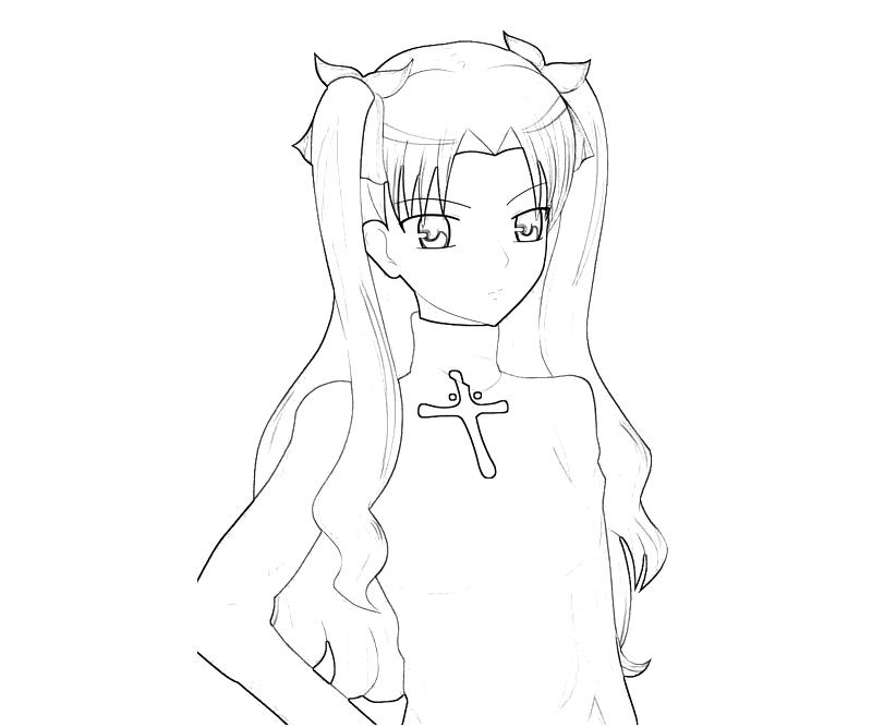printable-rin-tohsaka-cool_coloring-pages-4