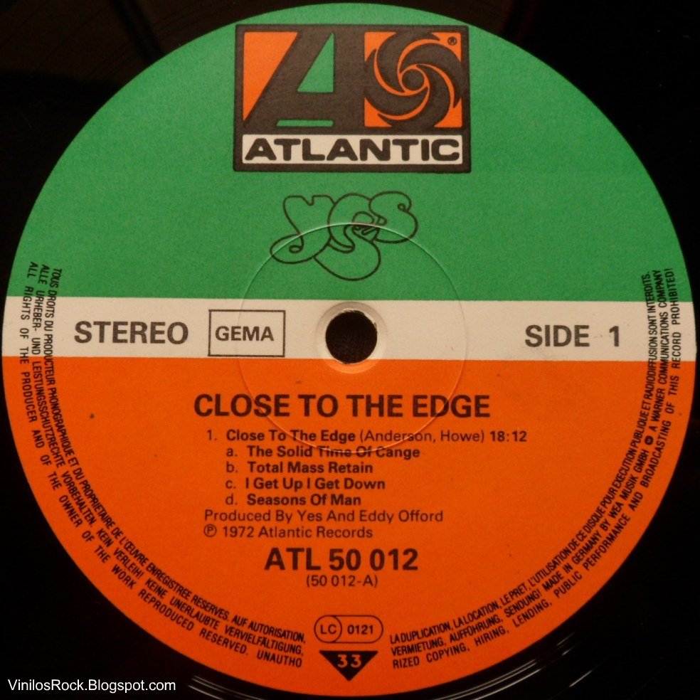 close to the edge Close to the edge is the first in a series of remixed and expanded yes albums presented in a mini vinyl replica gatefold card sleeve (with protective inner sleeves.