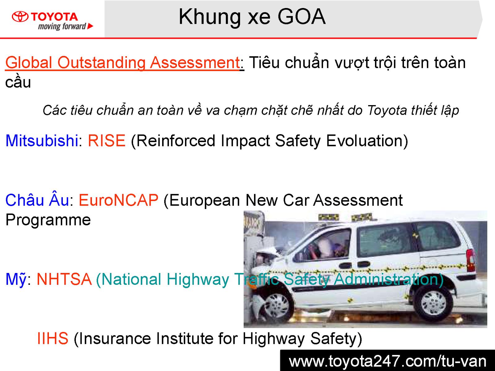 Khung xe Goa nổi tiếng của Toyota