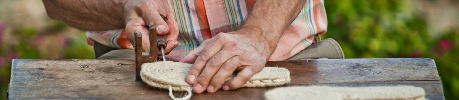 Alpargatas Ramoncinas, alpargata de España cosida a mano en la Rioja , espadrilles