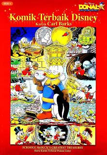 Komik Terbaik Disney - Donal Bebek Karya Carl Barks