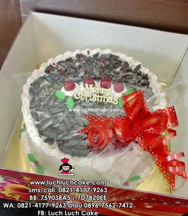 Kue Tart Christmas Daerah Surabaya - Sidoarjo